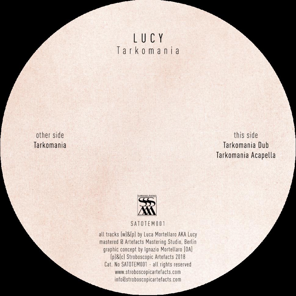 Stroboscopic Artefacts   Tarkomania [SATOTEM001]